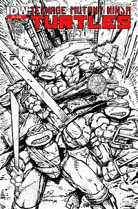 Teenage Mutant Ninja Turtles #2 (Kevin Eastman 2nd Printing Variant Cover)