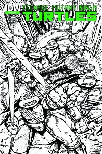Teenage Mutant Ninja Turtles #2 (Kevin Eastman 3rd Printing Variant Cover)