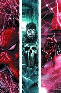 Punisher #10 (Marco Checchetto 2nd Printing Variant Cover)