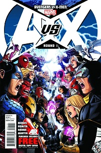Avengers Vs X-Men #1 (Of 12)(Jim Cheung 5th Printing Variant Cover)