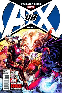 Avengers Vs X-Men #2 (Of 12)(Jim Cheung 5th Printing Variant Cover)