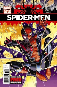 Spider-Men #2 (Of 5)(Jim Cheung 2nd Printing Variant Cover)