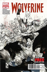Wolverine #311 (Simone Bianchi 2nd Printing Variant Cover)
