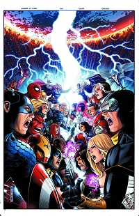 Avengers Vs X-Men #1 (Of 12)(Jim Cheung 7th Printing Variant Cover)