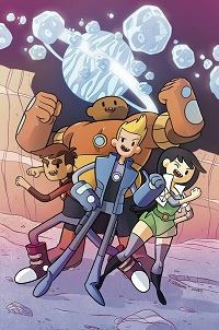 Bravest Warriors #1 (Of 6)(Chad Thomas 3rd Printing Variant Cover)