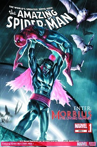 Amazing Spider-Man #699.1 (Stefano Caselli 2nd Printing Variant Cover)