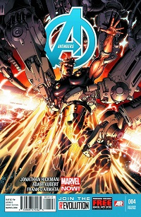 Avengers #4 (Adam Kubert 2nd Printing Variant Cover)