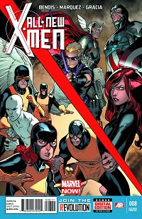 All-New X-Men #8 (Stuart Immonen 2nd Printing Variant Cover)