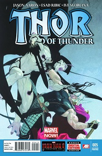 Thor God Of Thunder #5 (Esad Ribic 2nd Printing Variant Cover)