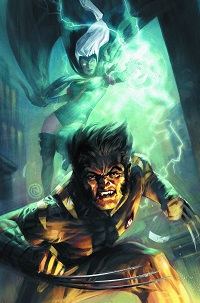 FF #8 (Todd Nauck Wolverine Costume Variant Cover)