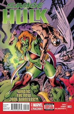 Savage Hulk #3 (Alan Davis Regular Cover)