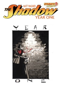 Shadow Year One #1 (Of 8)(Brennan Wagner Hand Drawn Variant Cover)