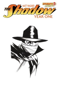 Shadow Year One #1 (Of 8)(Wilfredo Torres Hand Drawn Variant Cover)