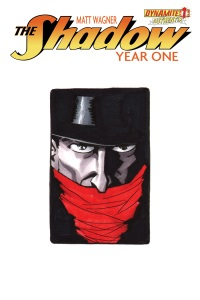 Shadow Year One #1 (Of 8)(Matt Wagner Hand Drawn Variant Cover)