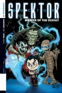 Doctor Spektor Master Of The Occult #1 (Ken Haeser Li'l Spektor Variant Cover)