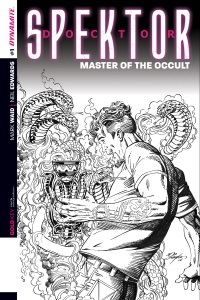 Doctor Spektor Master Of The Occult #1 (Bob Layton Black & White Reorder Variant Cover)