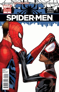 Spider-Men #2 (Of 5)(Sara Pichelli Variant Cover)