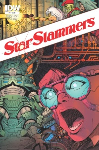 Star Slammers Re-Mastered #4 (Cover A Walter Simonson)