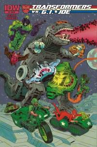 Transformers Vs G.I. JOE #2 (Cover RI Tom Scioli)