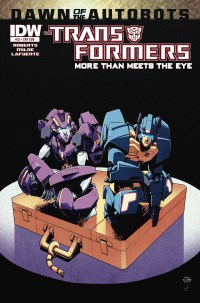 Transformers More Than Meets The Eye #32 (Cover SUB Nick Roche)