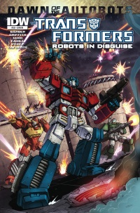 Transformers Robots In Disguise #29 (Cover RI Marcelo Matere)