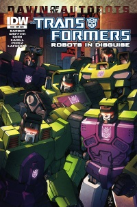 Transformers Robots In Disguise #29 (Cover SUB Casey W. Coller)