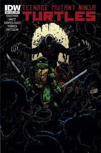 Teenage Mutant Ninja Turtles #36 (Cover B Kevin Eastman)
