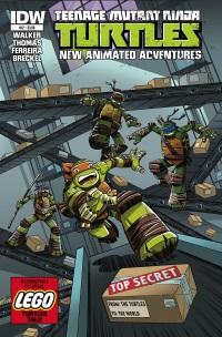 Teenage Mutant Ninja Turtles New Animated Adventures #12 (Cover A Dario Brizuela)