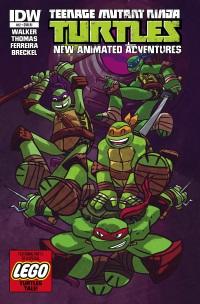 Teenage Mutant Ninja Turtles New Animated Adventures #12 (Cover RI Ben Costa)