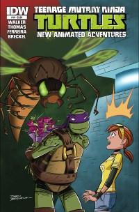 Teenage Mutant Ninja Turtles New Animated Adventures #14 (Cover A Dario Brizuela)