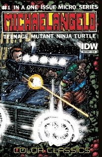 Teenage Mutant Ninja Turtles Color Classics Micro-Series Michelangelo (One Shot)