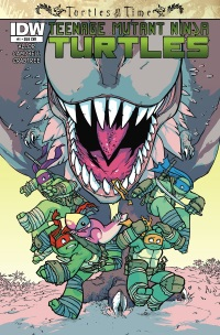 Teenage Mutant Ninja Turtles Turtles In Time #1 (Of 4)(Cover SUB Ross Campbell)