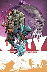 Unity #8 (Trevor Hairsine Armor Hunters Variant Cover)