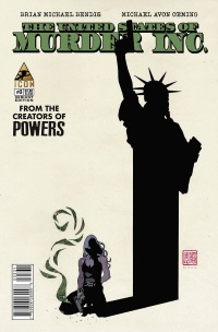 United States Of Murder Inc #3 (David Mack Variant Cover)