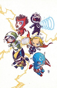 Uncanny Avengers #1 (Skottie Young Baby Variant Cover)