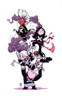 Uncanny X-Force #1 (Skottie Young Baby Variant Cover)