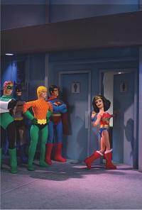 Wonder Woman #29 (Robot Chicken Variant Cover)