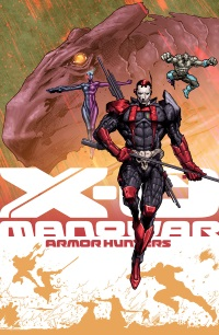 X-O Manowar #26 (Trevor Hairsine Armor Hunters Variant Cover)