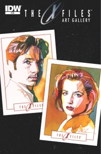 X-Files Art Gallery #1 (Cover A Mark McHaley)