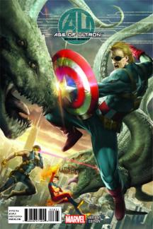 Age Of Ultron #8 (Of 10)(7th Orange Variant Cover)