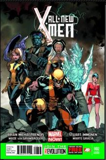 All-New X-Men #2 (Stuart Immonen 3rd Printing Variant Cover)