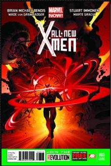 All-New X-Men #3 (Stuart Immonen 3rd Printing Variant Cover)