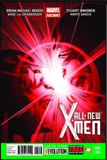 All-New X-Men #4 (Stuart Immonen 3rd Printing Variant Cover)
