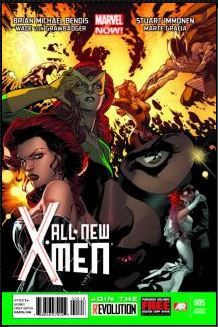 All-New X-Men #5 (Stuart Immonen 3rd Printing Variant Cover)