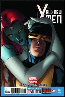 All-New X-Men #7 (David Marquez 2nd Printing Variant Cover)