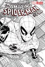 Amazing Spider-Man #700 (Joe Quesada Sketch Variant Cover)(Last Issue)