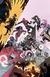 Avengers #34 (Paolo Rivera Final Issue Variant Cover)(Final Issue)