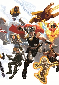 Avengers #16 (Daniel Acuna Avengers 50th Anniversary Variant Cover)