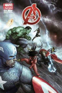 Avengers #24.NOW (Agustin Alessio Variant Cover)