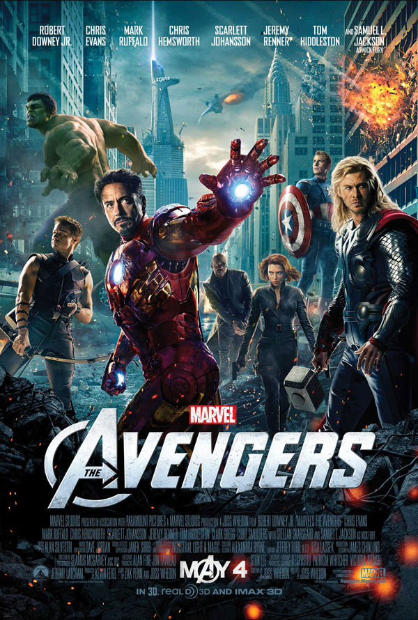 Marvel's The Avengers Movie Rolled Poster (Promotional Poster)